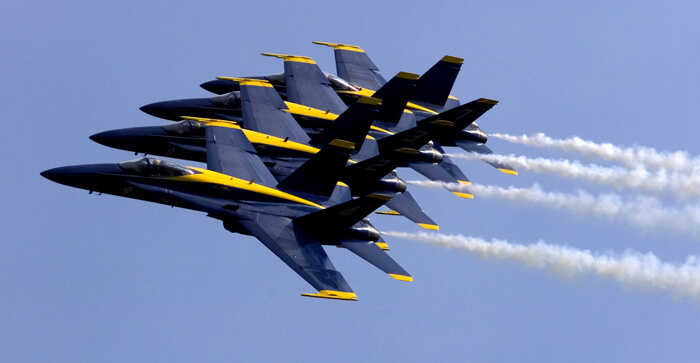 Business Coaching of What a Blue Angel can teach you?