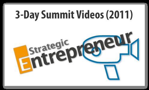 Strategic Entrepreneur 2011